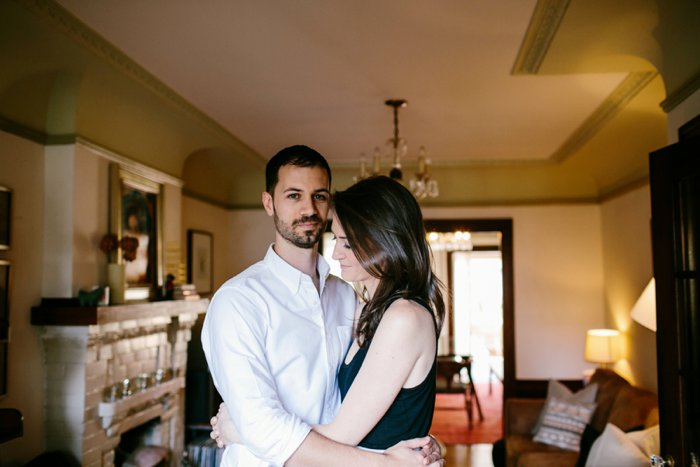 Intimate At Home Engagement Session_015