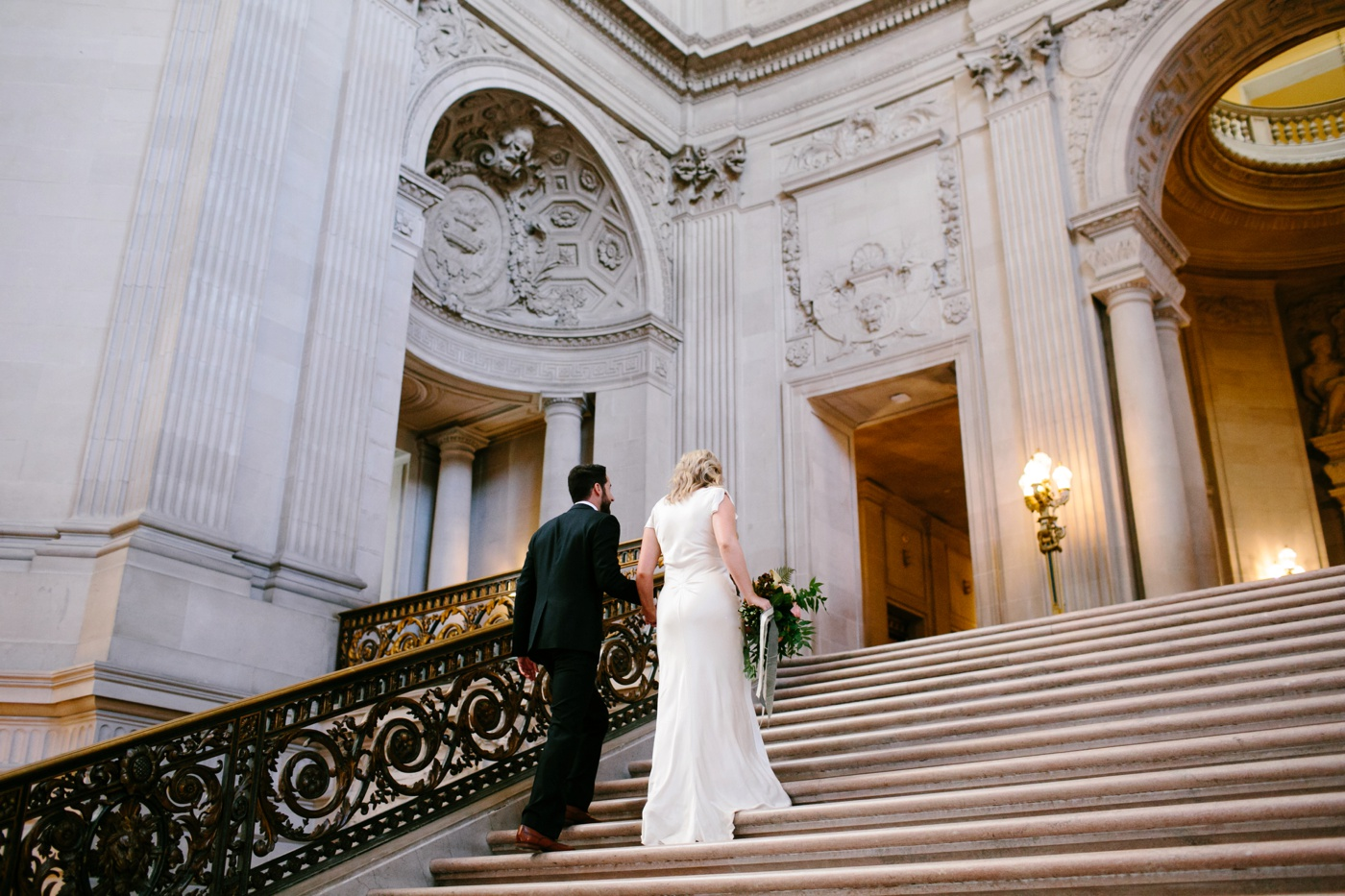san francisco city hall wedding 019