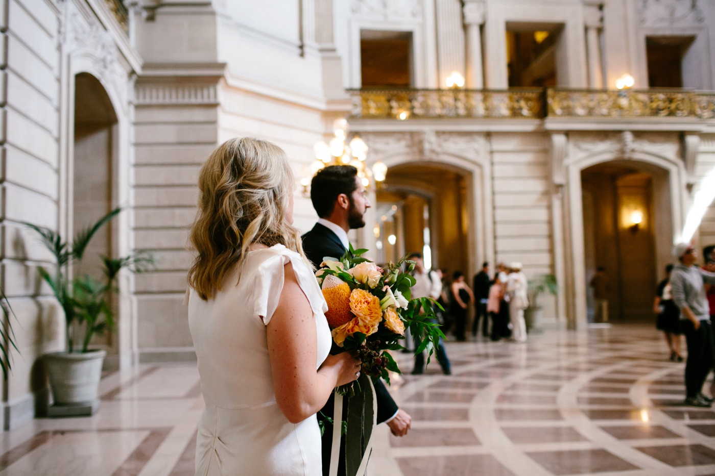 san francisco city hall wedding 036