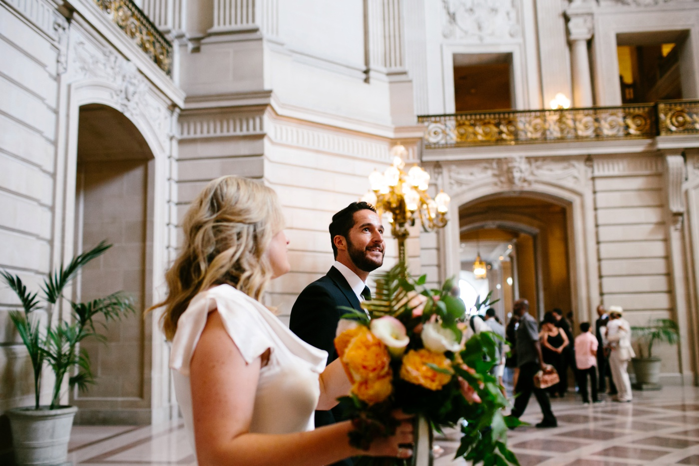 san francisco city hall wedding 037
