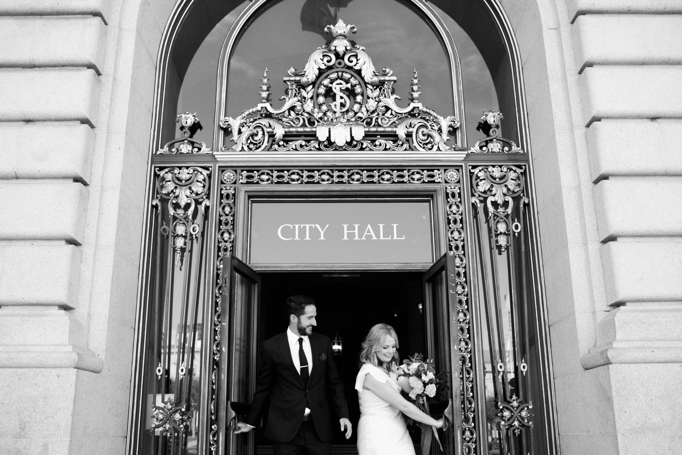 san francisco city hall wedding 072