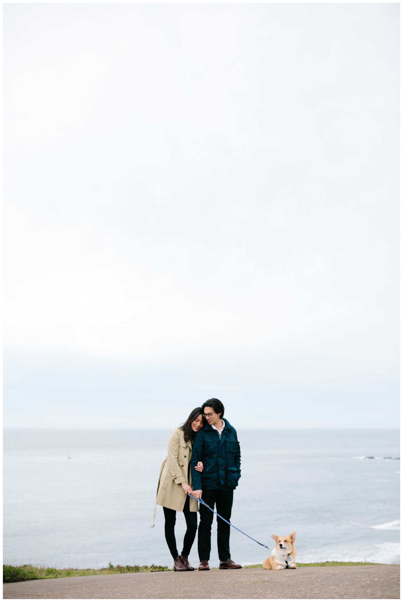 rodeo beach marin headlands engagement session 004