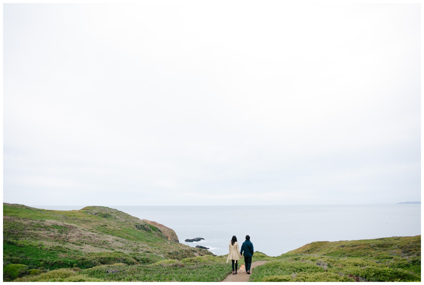 rodeo beach marin headlands engagement session 006