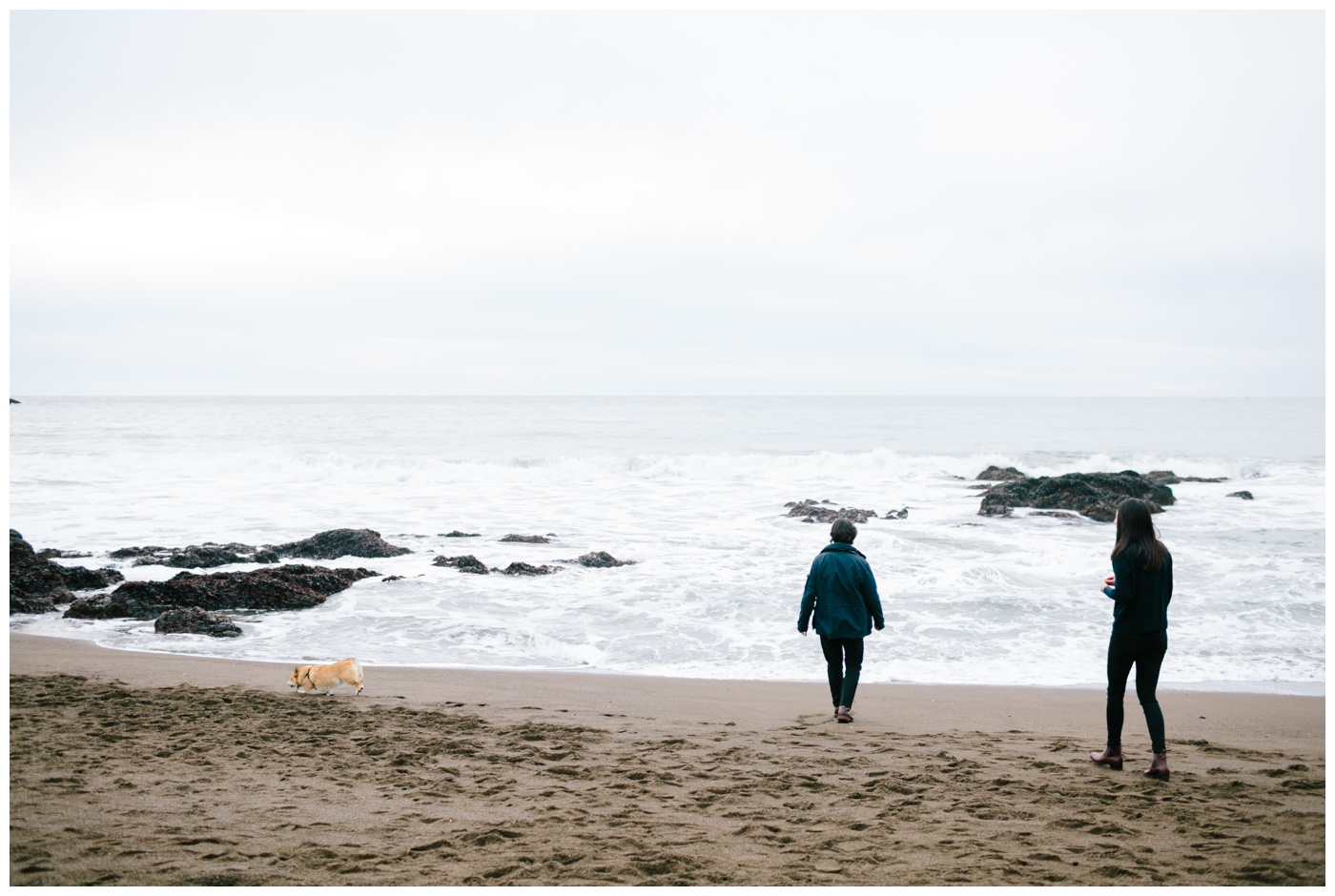rodeo beach marin headlands engagement session 009